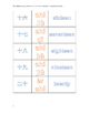01-04 Numbers--pinyin and Chinese and English Numbers-  数字