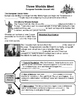 01 - Three Worlds Meet - Scaffold/Guided Notes (Blank and