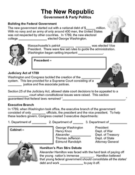 06 - The New Republic - Scaffold/Guided Notes (Blank and F
