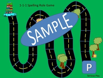 Double the Final Consonant 1-1-1 Spelling Rule Board Game