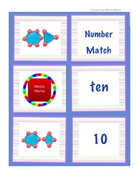 1-10 Number Match