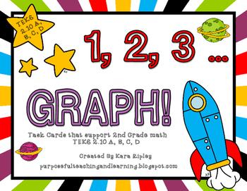 1,2,3...Graph! {Aligned to 2nd Grade Math TEKS 2.10 A, B, C, D}