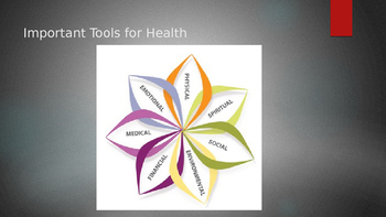 1.2 Important Tools for Health