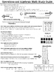 Test Prep Study Guide 1st Grade