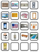 FLAT SHAPES Posters, Photo Cards & Sorting Mat, Coloring,