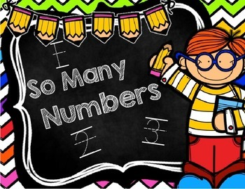 So Many Numbers: FREEBIE!