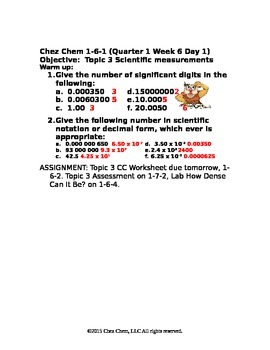 1-6-1 Quarter 1 Week 6 Day 1 answers