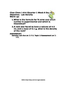 1-6-4 Quarter 1 Week 6 Day 4
