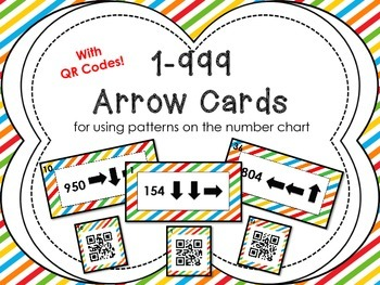 1-999 Arrow Cards