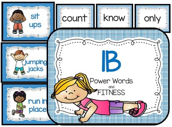 1 Blue Power Words and Fitness