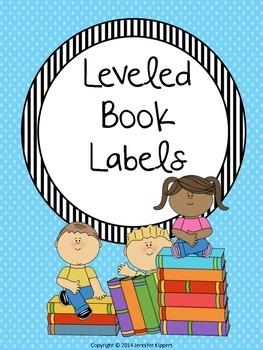 $1 Deals! Leveled Book Labels (Stripes- Blue, Green, & Pink)