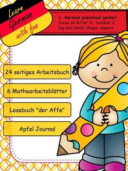 1. Deutsches Arbeitsbuch - 1. German workbook