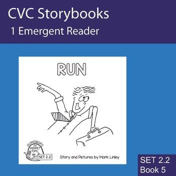 1 Emergent Reader ~ SET 2.2 Book 5 ~ RUN