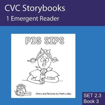 1 Emergent Reader - Set 2_3_3 - PIG SIPS