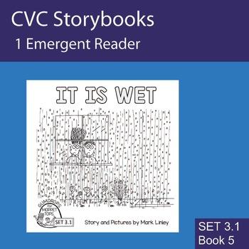 1 Emergent Reader  - Set 3_1_5 - IT IS WET