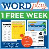 1 FREE Week Phonics & Chunk Spelling Curriculum