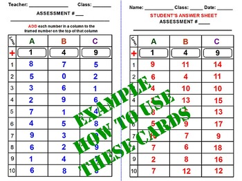 ADDITION and SUBTRACTION TASK CARDS. New Cool Template Tea