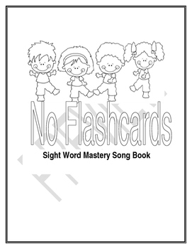 1 Million Little Readers Sight Word Song Lyric Book