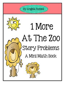 A Mini Math Book ~ Add 1 More