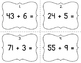 1.NBT.4 Common Core Math Activity: 2-digit + 1-digit Addit