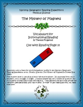 1 NGRE Mystery of Magnets - Vocabulary, p31