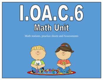 1.OA.C.6 Math Unit