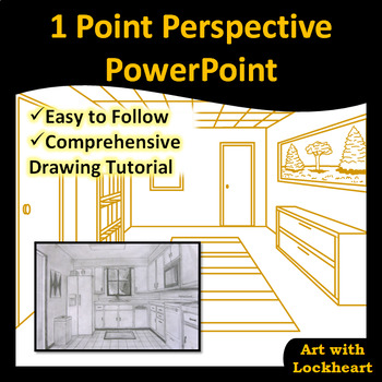 1 Point Perspective: How to Draw Boxes and a Room PowerPoint