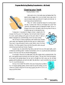 1 Reading Comprehension - Grade 4 (Progress Monitoring)