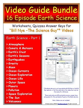 1 SCHOOL SITE LICENSE for Bill Nye - Science Guy ** Earth