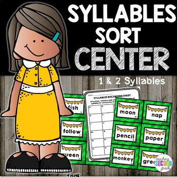 1 and 2 Syllable Words