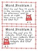 1 and 2 step WORD PROBLEMS (OWL themed)
