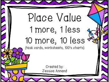 Common Worksheets » Place Value 10 More 10 Less Worksheets ...