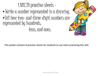 1.nbt.2b practice sheets - modeling a given number with ba