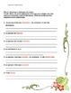 story - one page - character traits - French (with activities)