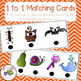 One to One Matching Cards for emergent and non-readers