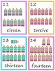 1 to 20 Flashcard Bundle for Pre-k and Kindergarten