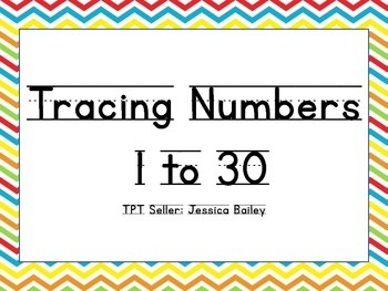 1 to 30 Tracer Page