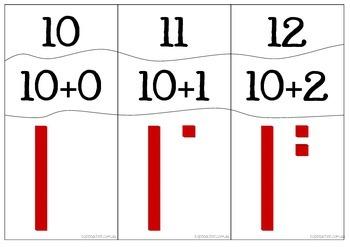 10-20 Place Value Puzzles
