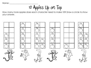 10 Apples Up on Top -quick check