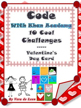 10 COOL Challenges- Valentine's Day * Hour of Code with Kh