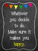 10 Classroom Quotes Chalkboard Style