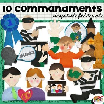 10 Commandments Digital Art