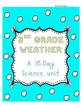 10-Day Consecutive Weather Unit Plan