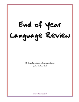 10 Day Language Review