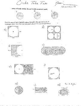 10+ Dbl Area Circles Trapezoids Triangles Irregular Figure