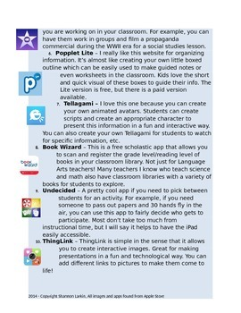 10 FREE Apps to Use in the Classroom