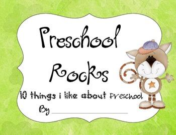 10 Favorite Things About Preschool Book