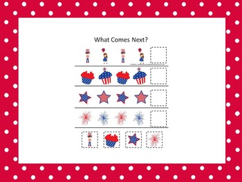 10 Fourth of July Holiday themed preschool games and works