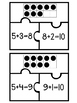 10 Frame Addition Puzzles