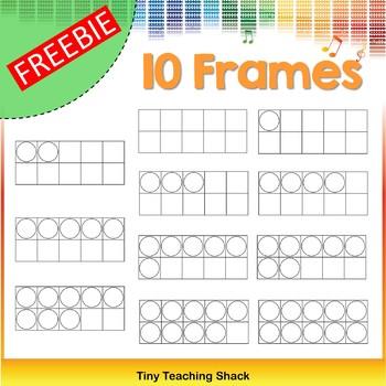 10 Frames Clip Art Freebie